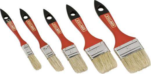 Flachpinselset 5tlg. 811447 Pinselbreite:19.05/ 25.4/ 38.1/ 50.8/ 63.5 mm Stärke -