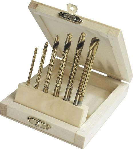 HSS Metall-Fräsbohrer-Set 6teilig 54606 TiN 1 Set