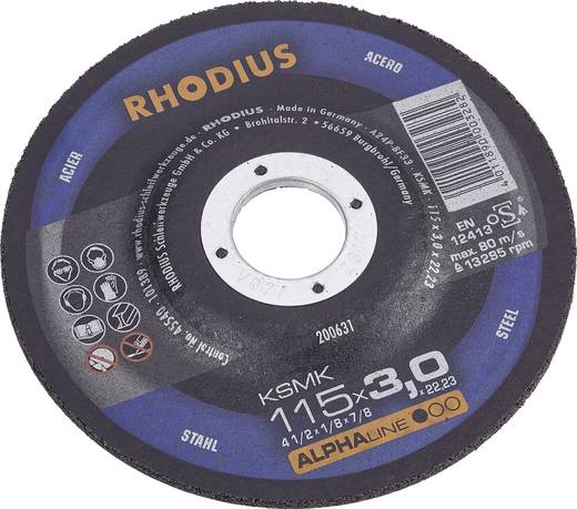 Trennscheibe gekröpft 115 mm 22.23 mm Rhodius KSMK 200631 1 St.