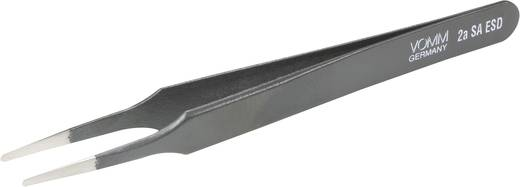 ESD-Pinzette 2a SA-ESD Flach-rund 120 mm VOMM 3611