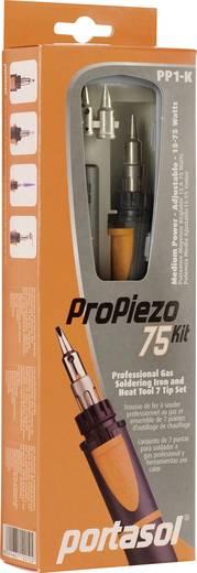 Gaslöt-Set Portasol Pro Piezo 75 Kit 1300 °C 90 min inkl. Piezozünder