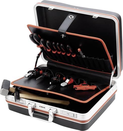 Cimco 170175 Elektriker Werkzeugkoffer bestückt 15teilig (L x B x H) 465 x 310 x 170 mm