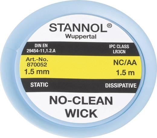 Entlötlitze Stannol NC/AA Länge 1.5 m Breite 1.5 mm