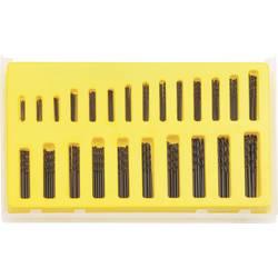 Sada spirálových HSS vrtáků, DIN 338, 0,4 - 3,2 mm, 150 dílů