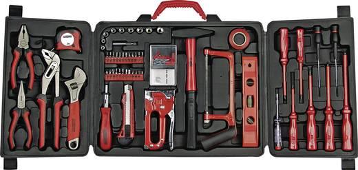Brüder Mannesmann 29065 Heimwerker Werkzeugset im Koffer 61teilig