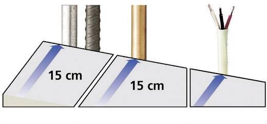 Zircon Ortungsgerät MetalliScanner MT6 58594 Ortungstiefe (max.) 152 mm Geeignet für eisenhaltiges Metall, nicht eisenh