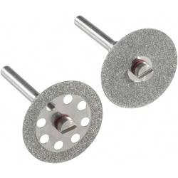 Image of 2er-Pack Diamant-Trennscheiben 812534 Durchmesser 22 mm 3,2 mm 2 St.