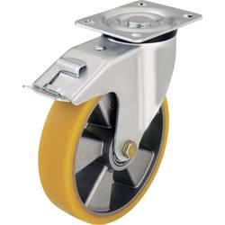 Otočné kolečko s kontrukční deskou a brzdou, Ø 160 mm, Blickle 282582, L-ALTH