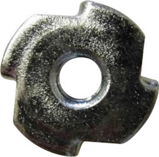 TOOLCRAFT 812876 Einschlagmuttern M4 Stahl 100 St.