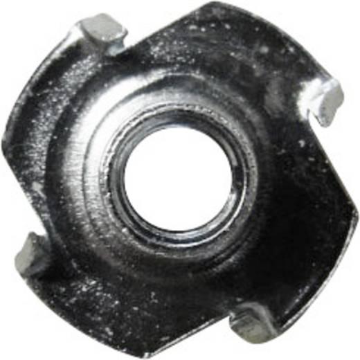 Einschlagmuttern M6 Stahl 100 St. TOOLCRAFT 812813
