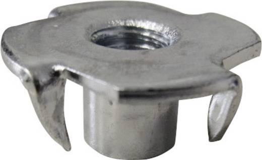 TOOLCRAFT 812813 Einschlagmuttern M6 Stahl 100 St.