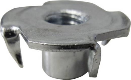 TOOLCRAFT 226785 Einschlagmuttern M4 Stahl 10 St.