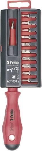 """Elektriker Bit-Schraubendreher Felo E-PRO 1/4"""" (6.3 mm) 105 mm DIN EN 60900"""