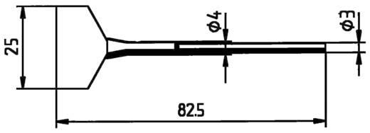 Entlötspitze Ersa FDLF400 Spitzen-Größe 40 mm Inhalt 2 St.