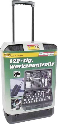 Brüder Mannesmann 122 delar 29070 Heimwerker Werkzeugkoffer bestückt 122teilig (B x H x T) 360 x 240 x 530 mm
