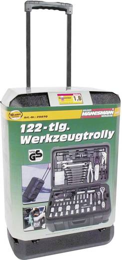 Handwerker Werkzeugkoffer bestückt 122teilig Brüder Mannesmann 122 delar 29070 (B x H x T) 360 x 240 x 530 mm