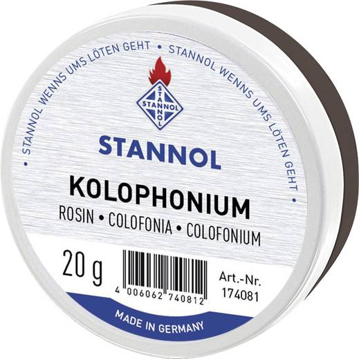 Kolophonium Stannol 174081 Inhalt 20 g