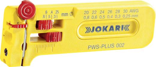 Drahtabisolierer Geeignet für PVC-Drähte, PTFE-Drähte 0.25 bis 0.80 mm Jokari PWS Plus 002 40025