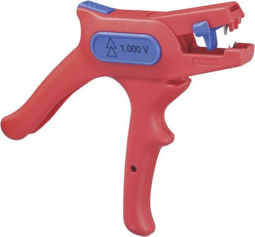 VDE-Abisolierzange Geeignet für Leiter mit PVC-Isolation 0.2 bis 6 mm² 10 bis 24 WEICON TOOLS No. 6 51000006-KD