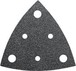 Brusný papír pro delta brusky Fein 63717238010 na suchý zip, s otvory, Zrnitost 80, 35 ks