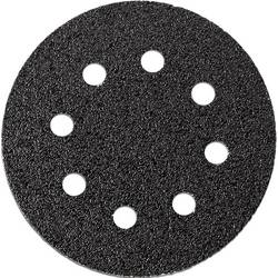 Brúsny papier pre excentrické brúsky Fein 63717233010 na suchý zips, s otvormi, zrnitosť 40, (Ø) 115 mm, 12 ks