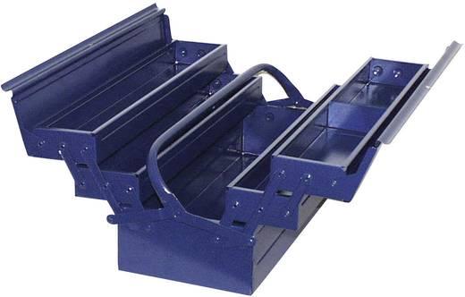 Werkzeugkasten unbestückt Alutec 10235/Blau Stahl Blau