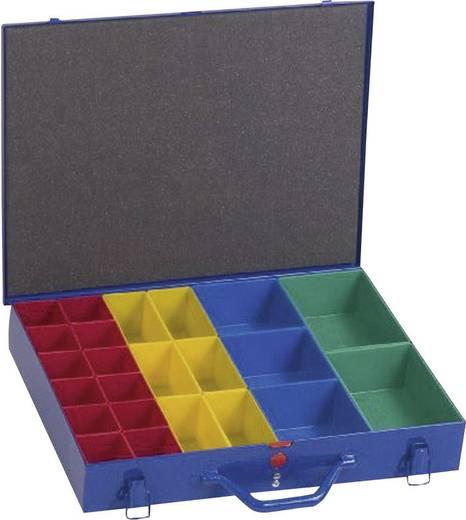 Sortimentskoffer (L x B x H) 440 x 66 x 330 mm Alutec Anzahl Fächer: 23 variable Unterteilung