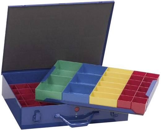 Sortimentskoffer (L x B x H) 440 x 100 x 300 mm Alutec Anzahl Fächer: 59 variable Unterteilung