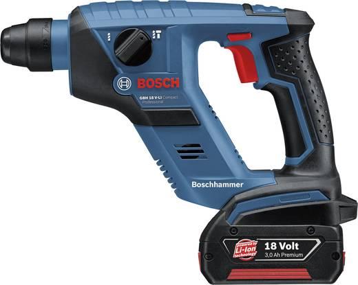 Bosch Akku-Bohrhammer GBH 18 V-LI 3,0 Ah 0611905303 + 2 x 3,0 Ah Li-Ion Akku + L-Boxx