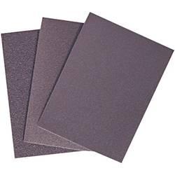 Brusný papír, 55 x 75 mm, zrnitost 120, 25 ks