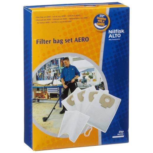 Filtersäcke Aero Set: 4 x Vlies-Filtersack, 1 x Naßfilter