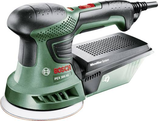 Exzenterschleifer inkl. Koffer 270 W Bosch Home and Garden PEX 300 AE 06033A3000 Ø 125 mm