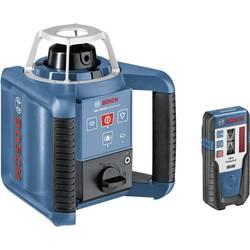 Rotačný laser samonivelačná Bosch Professional GRL 300 HV, Dosah (max.): 300 m, Kalibrované podľa: ISO