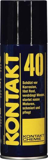 CRC Kontakt Chemie 79009-AA KONTAKT 40 Verdrängt Feuchtigkeit und schützt 200 ml
