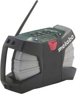 FM outdoorové rádio Metabo PowerMaxx RC 60211300 AUX, SV, FM černá, zelená
