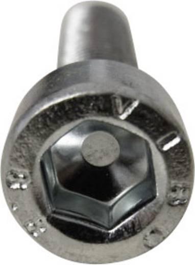 Zylinderschrauben M3 10 mm Innensechskant DIN 912 ISO 4762 Stahl 8.8 geschwärzt 1 St. TOOLCRAFT 814130