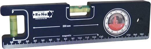 Mini-Wasserwaage 20 cm RONA 450710 Kalibriert nach: Werksstandard (ohne Zertifikat)