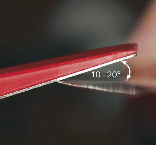 Diamant-Flachfeilen-Satz 5tlg. RONA SET DE 5 LIMES PLATES DIAMANT. Körnung 1000, 600, 400, 250, 150 1 Pckg.