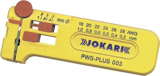 Drahtabisolierer Geeignet für PVC-Drähte, PTFE-Drähte 0.16 mm (max) Jokari SWS-PLUS 016 40035