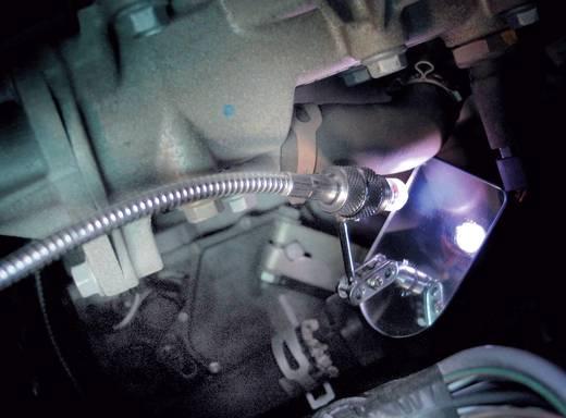 Inspektionsspiegel-Set 8teilig mit Beleuchtung, mit Verlängerung Spiegel-Größe: (B x H) 45 mm x 65 mm TOOLCRAFT 820933