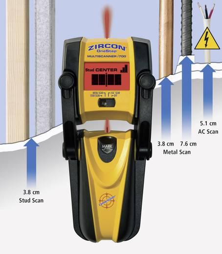 Zircon Ortungsgerät MULTISCANNER i700 62134 Ortungstiefe (max.) 76 mm Geeignet für Holz, eisenhaltiges Metall, nicht ei