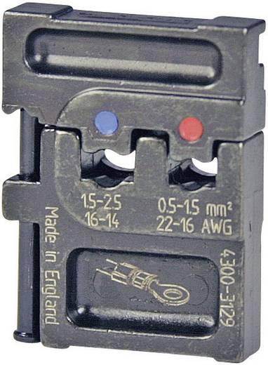 Crimpeinsatz Isolierte Kabelschuhe 0.5 bis 2.5 mm² Pressmaster 4300-3128 4300-3129 Passend für Marke Pressmaster MCT