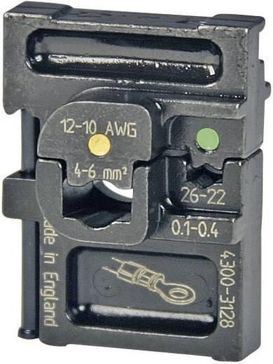 Crimpeinsatz Isolierte Kabelschuhe 0.1 bis 6 mm² Pressmaster 4300-3128 4300-3128 Passend für Marke Pressmaster MCT