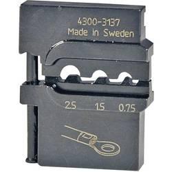 Krimpovací čelisti pro neizol.kabelové koncovky Pressmaster , 0,75/1,5/2,5
