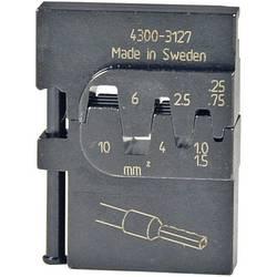 Krimpovací čelisti k dutinkám Pressmaster, 0,25-0,75/1,0-1,5/2,5/4/6/10 mm²