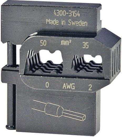 Crimpeinsatz Aderendhülsen 35 bis 50 mm² Pressmaster 4300-3154 4300-3154 Passend für Marke Pressmaster MCT