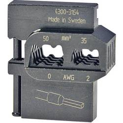 Krimpovací čelisti k dutinkám Pressmaster, 50/35 mm²