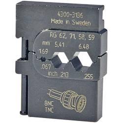 Krimpovací čelisti ke koaxiálním kabelům RG 58/RG 59/RG 62/RG 71 Pressmaster