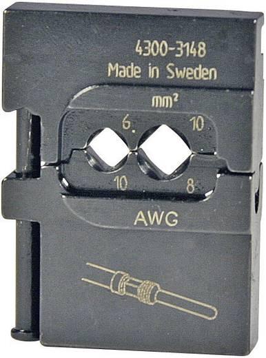 Crimpeinsatz Gedrehte Stiftsteckverbinder 6 bis 10 mm² Pressmaster 4300-3148 4300-3148 Passend für Marke Pressmaster MCT