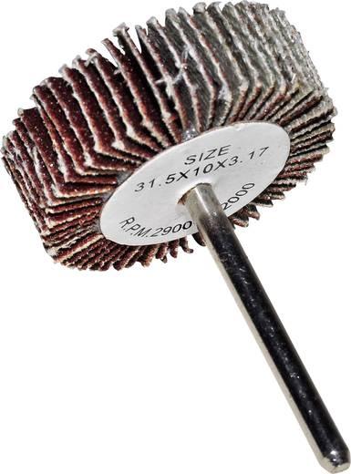 Fächerschleifer 814519 Durchmesser 31.5 mm Körnung 120